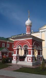 Николо- Пешношский м-рь октябрь 2014-2